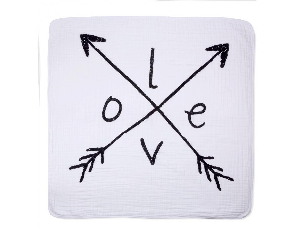 aden and anais couverture de reve lovestruck dream blanket 120x120cm. Black Bedroom Furniture Sets. Home Design Ideas