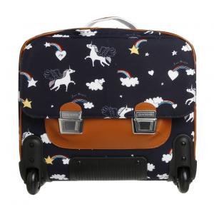 Jeune Premier - bt17013 - Cartable Itbag à roulettes  Rainbow Unicorn (360140)