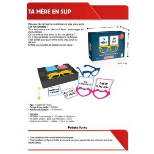 Topi Games - TMS-439001 - Ta mère en slip - Format Moyen (16,5 x 22 x 5) (360272)