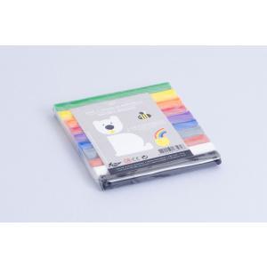 Les Jouets Libres - PAT007 - Pâte à modeler à la cire d'abeille 10 couleurs arc-en-ciel (360308)
