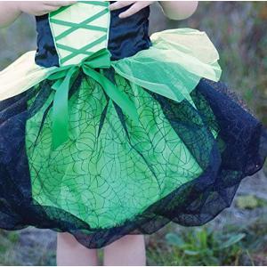 Great Pretenders - 37395 - Robe de sorcière avec chapeau, vert, taille US 4-6 (361918)