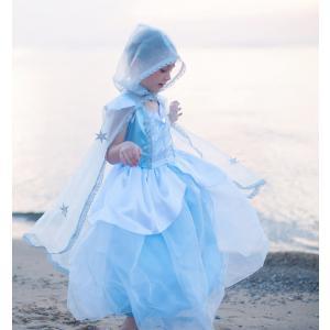 La Reine des Neiges - 51085 - Cape - Reine des Neiges, bleu, taille EU 104-116 - Ages 4-7 years (362038)