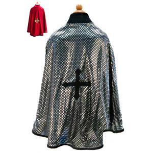 Great Pretenders - 54805 - Cape réversible roi/chevalier, rouge/argent - 5/6 (362080)