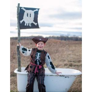 Great Pretenders - 66805 - Set pirate (pantalon, T.shirt en veste, chapeau) - 5/6 ans (362154)