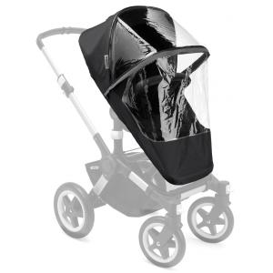 Bugaboo - 180540ZW01 - Bugaboo Donkey/Buffalo/Runner protection pluie haute performance  Noir (363878)