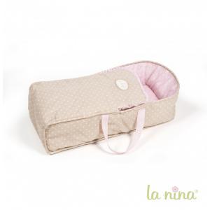La nina - 61614 - Grand couffin pour poupée de 30 à 42 cm Inès LA NINA (364016)