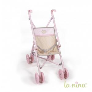 La nina - 61610 - Grande poussette inés (51x34x66 cm) (364020)