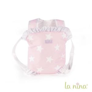 La nina - 60407 - Sac a dos porte bebe carlota (24x31x2 cm) (364050)