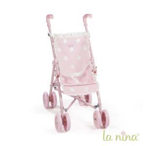 La nina - 60405 - Grande poussette carlota (34x62x42 cm) (364054)