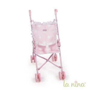 La nina - 60404 - Petite poussette carlota (27x53x41 cm) (364056)