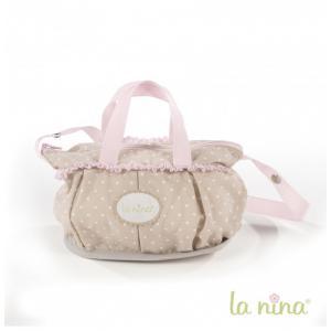 La nina - 61618 - Sac à langer pour poupée : Petit sac Inès La Nina (364080)