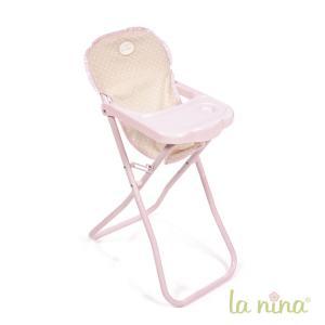 La nina - 61611 - Chaise haute inés (33x26x60 cm) (364086)