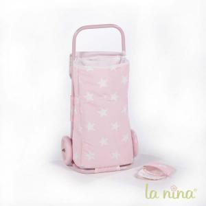 La nina - 60415 - Sac de courses carlota (28x59x16,5 cm) (364090)