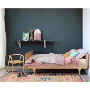 Camomile London - C17BP - Coussin maison rose / crème - 24 x 38 cm (364208)