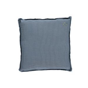 Camomile London - C09S MCB - Coussin imprimé petits carreaux bleus - 30 x 30 cm (364218)