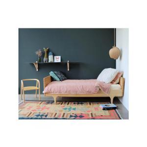 Camomile London - C06-2IKI - Taie d'oreiller imprimée carreaux ivoire - 75 x 50 cm (364362)