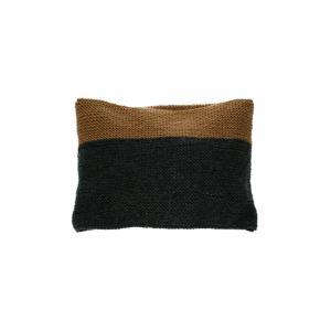 Lullaby Road - Col-Scarf-2-6-ans - Echarpe tube bicolore gris foncé et caramel - 2/6 ans (364424)