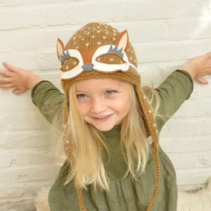 Lullaby Road - Reindee-6-12-mois - Bonnet caramel avec lunette amovible Daim - 6/12 mois (364464)
