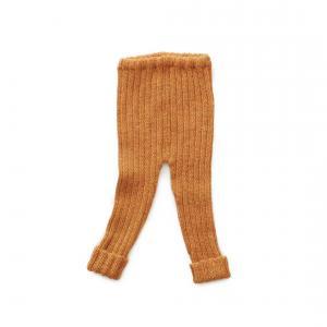 Oeuf Baby Clothes - K11617180012 - Pantalon Côtelé ocre en Alpaga 12M (364762)