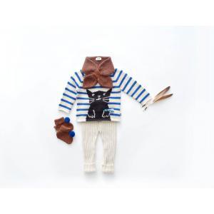 Oeuf Baby Clothes - K11615190006 - Pantalon Côtelé blanc en Alpaga 6M (364772)