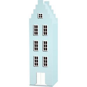 Kast Van Een Huis - EK67170-8 - Armoire enfant Amsterdam - enfant Escalier bleu pastel (364824)