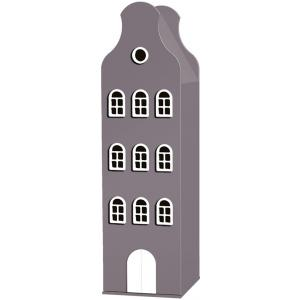 Kast Van Een Huis - EK67162-9 - Armoire enfant Amsterdam - toit Cloche marron glacé (364838)