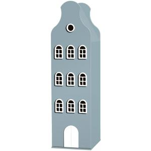 Kast Van Een Huis - EK67162-6 - Armoire enfant Amsterdam - toit Cloche bleu pétrole (364844)
