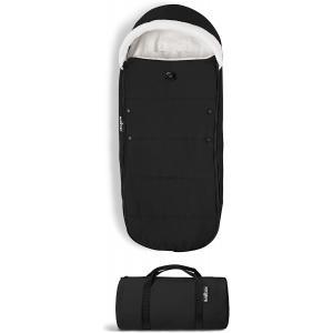 Babyzen - BZ10209-05 - Nouvelle chancelière Noire doublée et son sac de rangement pour poussette YOYO (364874)