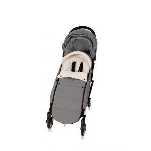 Babyzen - BZ10209-03 - Nouvelle chancelière Grise doublée et son sac de rangement pour poussette YOYO (364876)