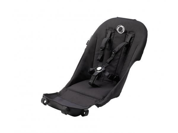 Habillage de siège avec harnais confort pour poussette bugaboo runner