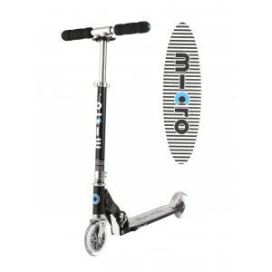 Micro - SA0133 - Trottinette 2 roues légère & compacte Noir (366282)