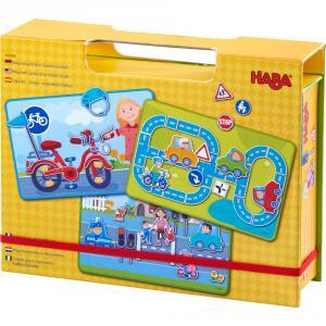 Haba - 303388 - Boîte de jeu magnétique Sur la route (366804)
