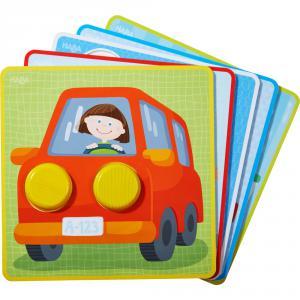 Haba - 303277 - Jeu de classement Le monde multicolore des véhicules (366868)