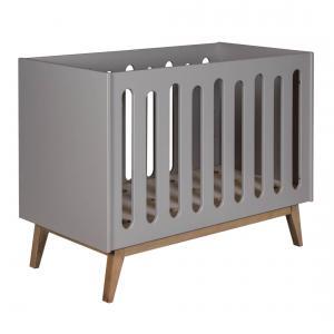 Quax - 54014124 - Lit bébé Trendy - gris 60*120 cm (367016)