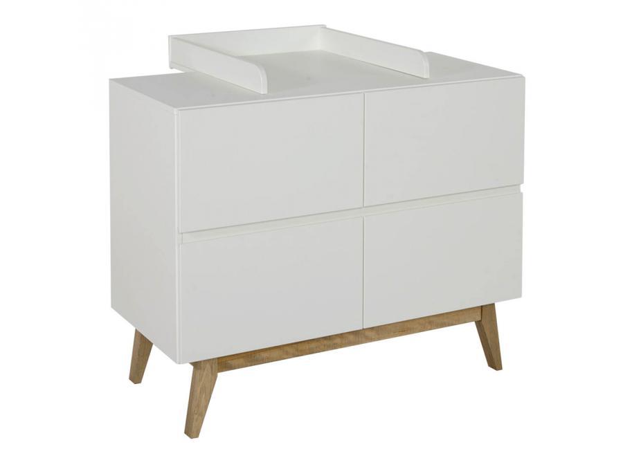 quax extension plan langer pour commode trendy blanc. Black Bedroom Furniture Sets. Home Design Ideas