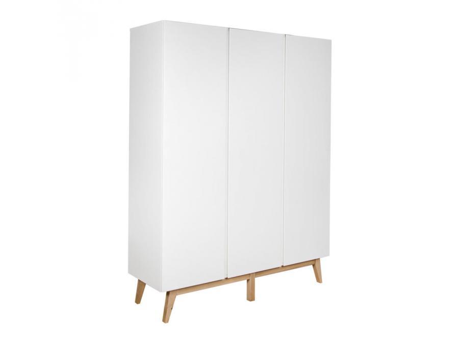 Quax armoire 3 portes trendy blanc for Chambre quax trendy
