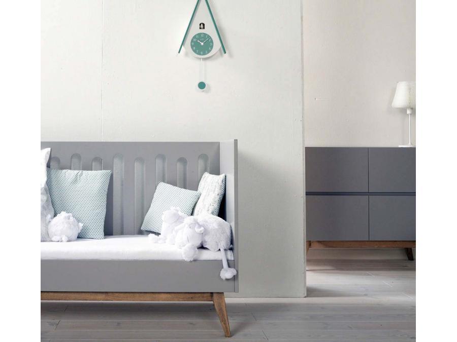 Quax barri re pour lit trendy gris 70 140 cm for Chambre quax trendy