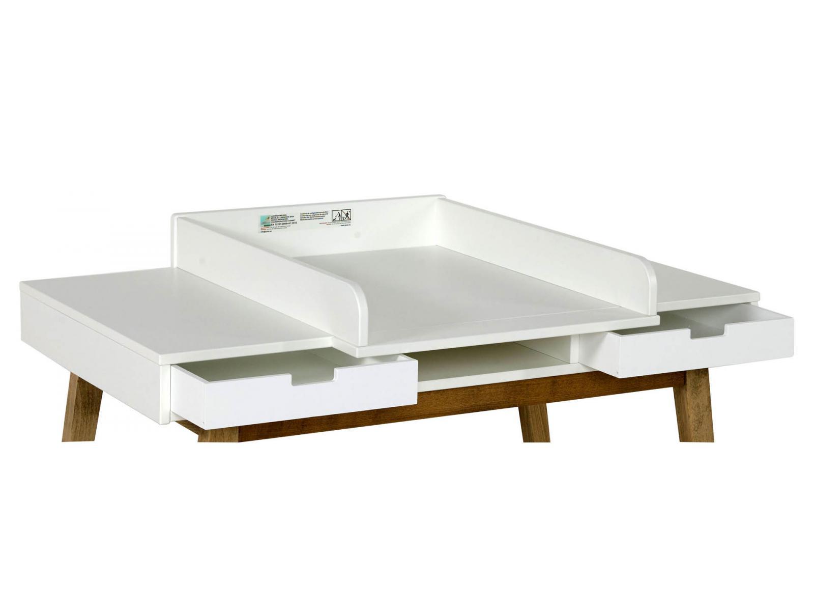 Quax rallonge pour bureau trendy blanc for Chambre quax trendy