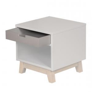 Quax - 54051924-D - Tiroir pour bureau et table de nuit Trendy - gris (367058)