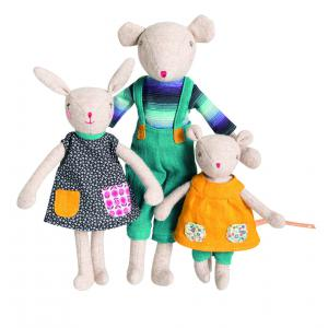 Moulin Roty - 710553 - Fille lapin Camomille Famille Mirabelle (367166)