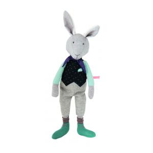 Moulin Roty - 711330 - Poupée lapin En retard! Il était une fois (367254)