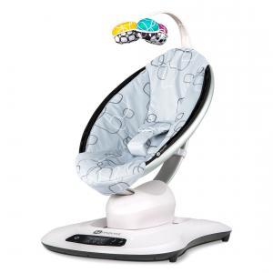 4moms - 2000808 - Balancelle MamaRoo 4.0 confort Argent (367576)
