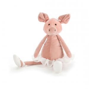 Jellycat - DD6P - Peluche Cochon Dancing Darcey Piglet 33cm (367644)