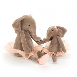 Jellycat - DDS6E - Dancing Darcey Elephant Small - 23 cm (367646)