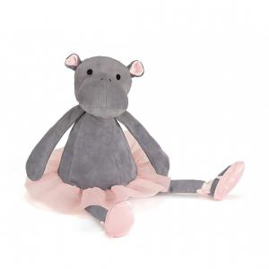 Jellycat - DDS6H - Peluche Dancing Darcey Hippo Small 23cm (367648)