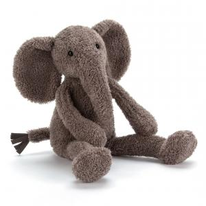Jellycat - SL3E - Peluche Elephant Slackajack Petit - 33 cm (367674)
