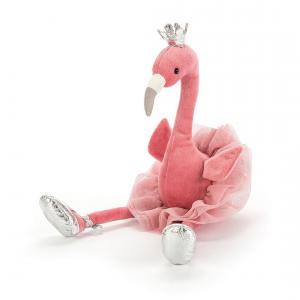 Jellycat - FA6F - Peluche flamant rose Fancy Flamingo 34cm (367678)