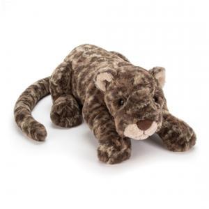 Jellycat - LEX1L - Peluche léopard Lexi - L = 14 cm x l = 46 cm x H =12 cm (367688)