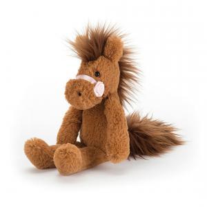 Jellycat - PRP6C - Peluche Poney Jellycat Prancing Pony Chestnut (367762)