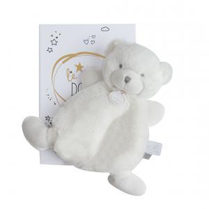 Doudou et compagnie - DC3265 - Le doudou - doudou ours blanc - 19 cm (367944)